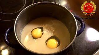 ostdeutsche Verlorene Eier nach DDR Rezept