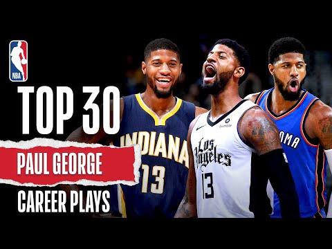 Paul George's Top 30 | Career Plays