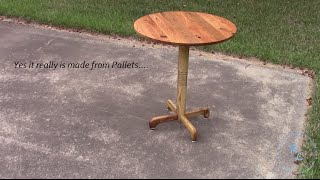 Pallet Wood Occasional Table Play_circle_filled