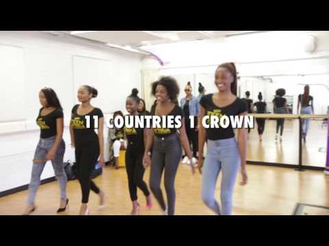 Miss Teen Africa Week1 Rehearsal