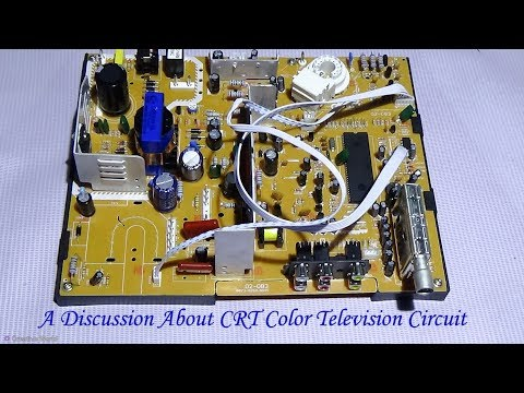 A Discussion About CRT Color Television Circuit / PCB - Must See (Bengali tutorial)