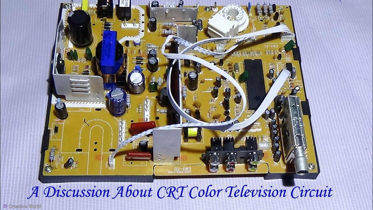 a discussion about crt color television circuit pcb must see bengali tutorial  [ 1280 x 720 Pixel ]