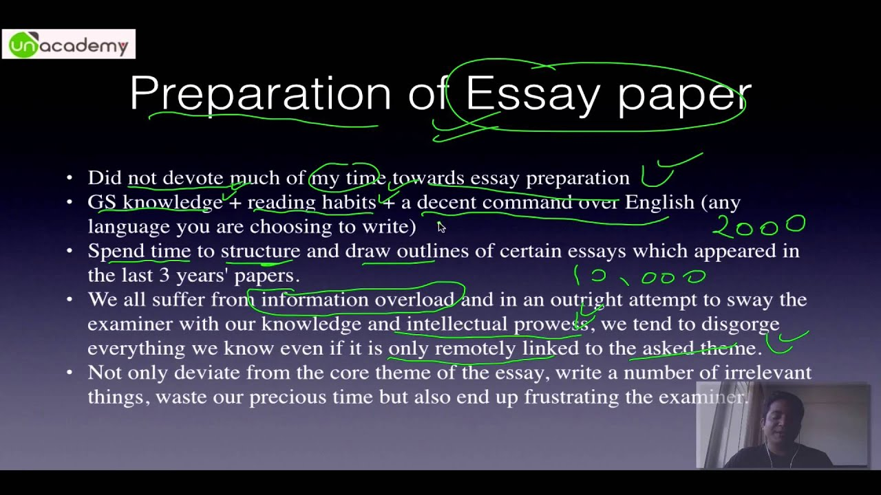 ... number fetching Essay Part Essay writing for IAS Preparation YouTube