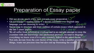 How to write a mind blowing, number fetching Essay Part 1 : Essay writing for IAS Preparation