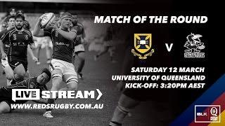 University of Queensland v Souths: BLK Queensland Premier Rugby