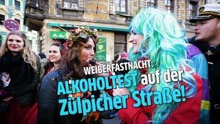 Alkoholtest: Karneval in Köln - Express misst den Pegel