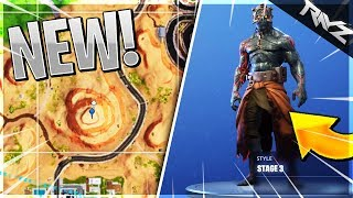 HOW TO GET STAGE 3 OF THE PRISONER SKIN! STAGE THREE LOCATION! (Fortnite Prisoner Stages Tutorial)