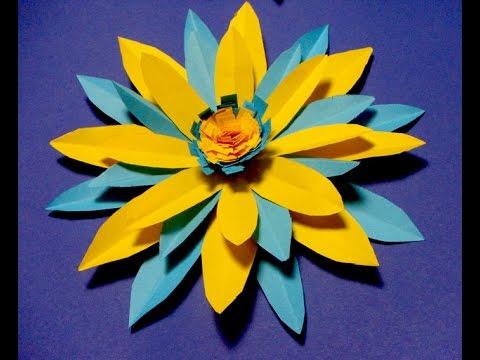 Украшения из бумаги,Handmade,Цветок