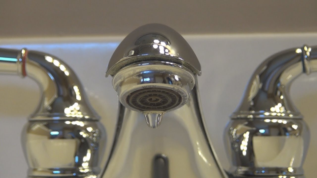 Fixing a Leaking Moen Bathroom Faucet - YouTube