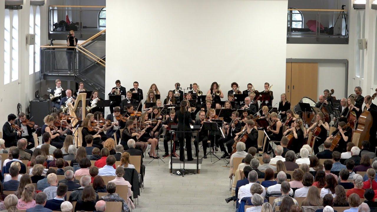 J. Strauss II Kaiserwalzer, Passau Univ. Orchestra, Eleni Papakyriakou