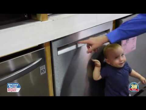 Kitchenaid Kdfe104hps Dishwasher Review Appliance Factory Reviews Youtube