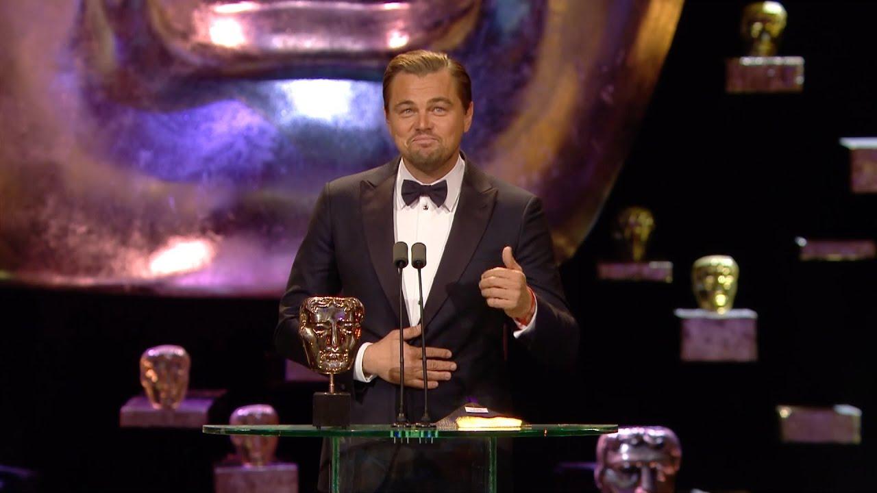 Leonardo Dicaprio Wins Best Leading Actor Award  The British Academy Film  Awards 2016  Bbc One  Youtube