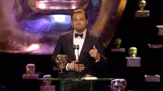 Leonardo DiCaprio wins Best Leading Actor award - The British Academy Film Awards 2016 - BBC One