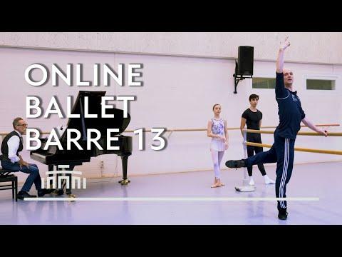 Ballet Barre 13 (Online Ballet Class) - Dutch National Ballet