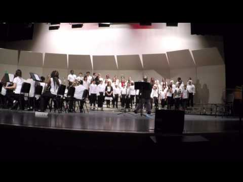 MBM Band/Chorus Winter Concert 2015 - Myrtle Beach Middle School