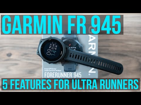 Garmin Forerunner 945 Review - Top 5 Features for Ultra Runners - GPS WATCH GIVEAWAY!