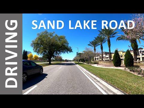 Sand Lake Road From Orange Ave To Apopka-Vineland Road | Florida Mall | Epic Universe