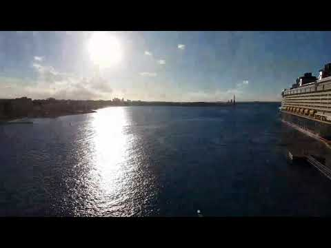 Disney Dream Leaving Nassau Bahamas