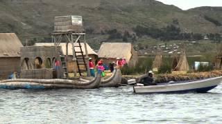 Lago Titicaca (Titicaca-See) Islas de los Uros/Sillustani - Puno Perú / Música: Pedro Valencia