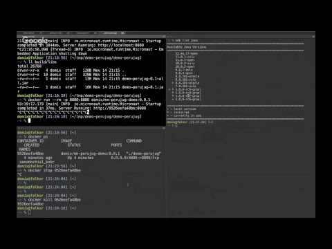 Micronaut + GraalVM