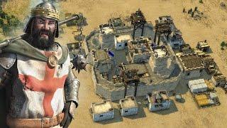 Stronghold Crusader 2 Skirmish - Richard The Lionheart vs SergiuHellDragoonHQ