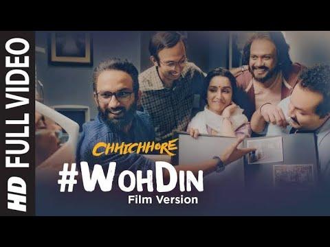 Download Lagu  Wo Din - Arijit Singh Vesion - Chhichhore Mp3 Free