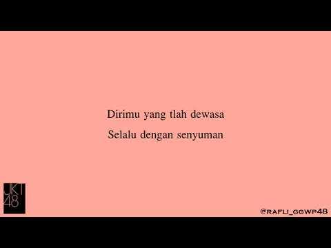 Lirik Sang Pianis Hujan (Ame No Pianist - Live Concert) - JKT48