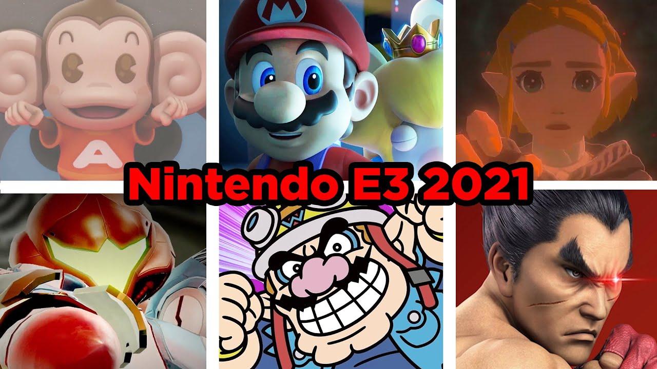 Nintendo Direct E3 2021 in 60 Seconds