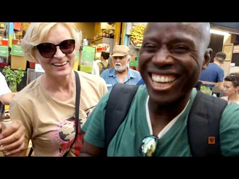 This Is How Blacks Are Treated In West Jerusalem Market Place!!! Part 12 Of 12