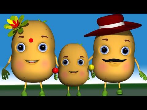 Aloo Kachaloo Beta Kahan Gaye They  Popular Hindi Song आलू कचालू बेटा कहाँ गए थे,लकड़ी की काठी