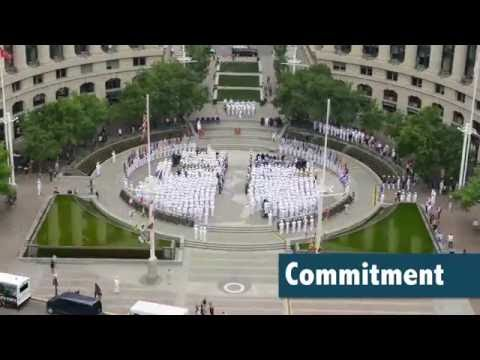 Time-lapse of the 74th Battle of Midway Commemoration at the Navy Memorial