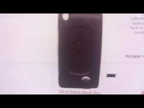 Citroen 3 Button Flip Key Picasso After 2004 (6490A2) - SAL-CTN-NWKS59