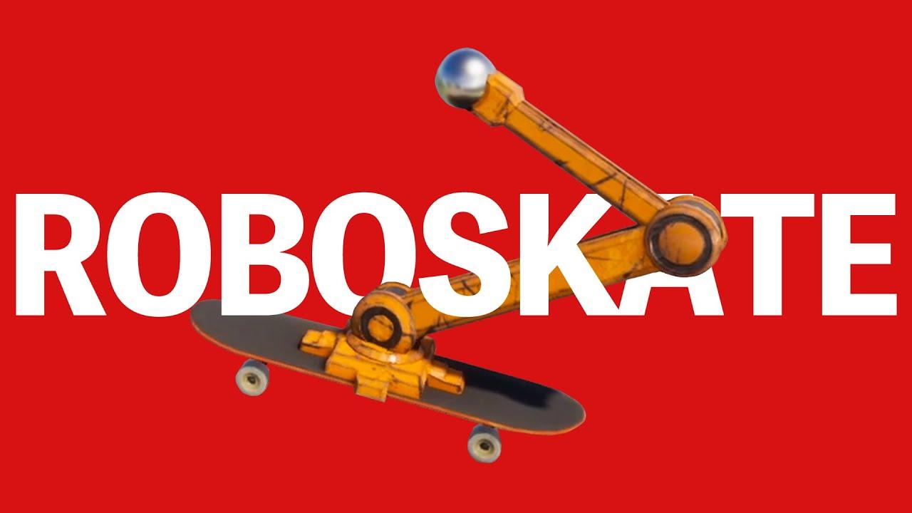 めんどくさいけど面白すぎる『ロボットのスケボー』ゲーム【Robo Skate】