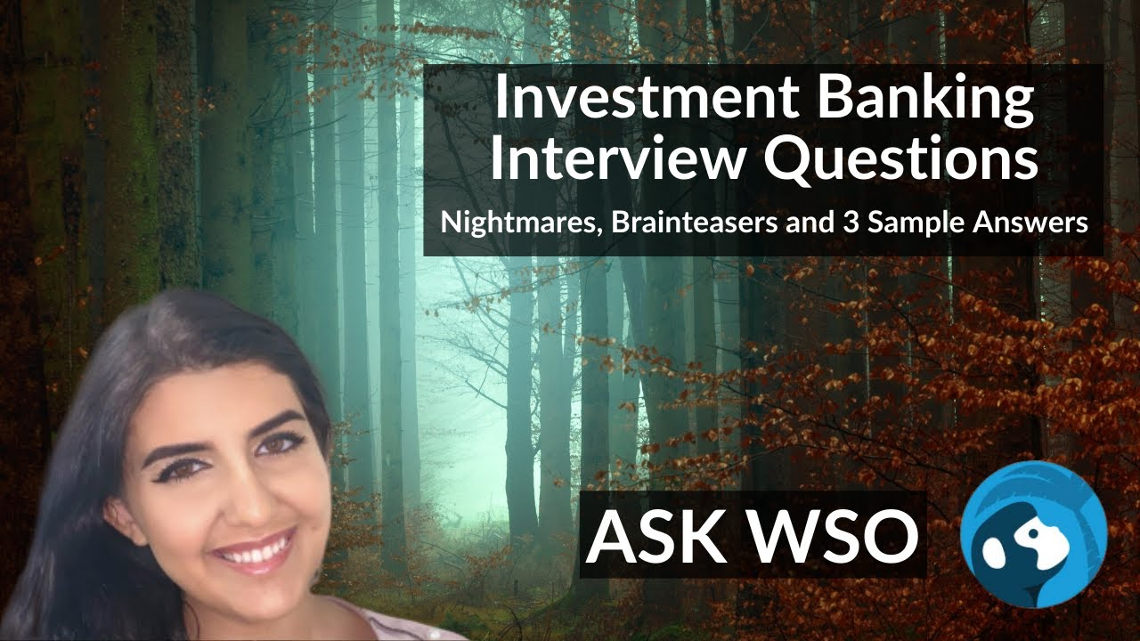 investment banking interview questions lbot