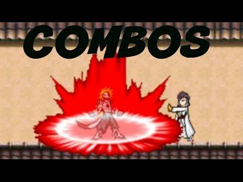 Ichigo (Hollow Mask) Combos | Bleach vs Naruto 2.6 | BvN Combos