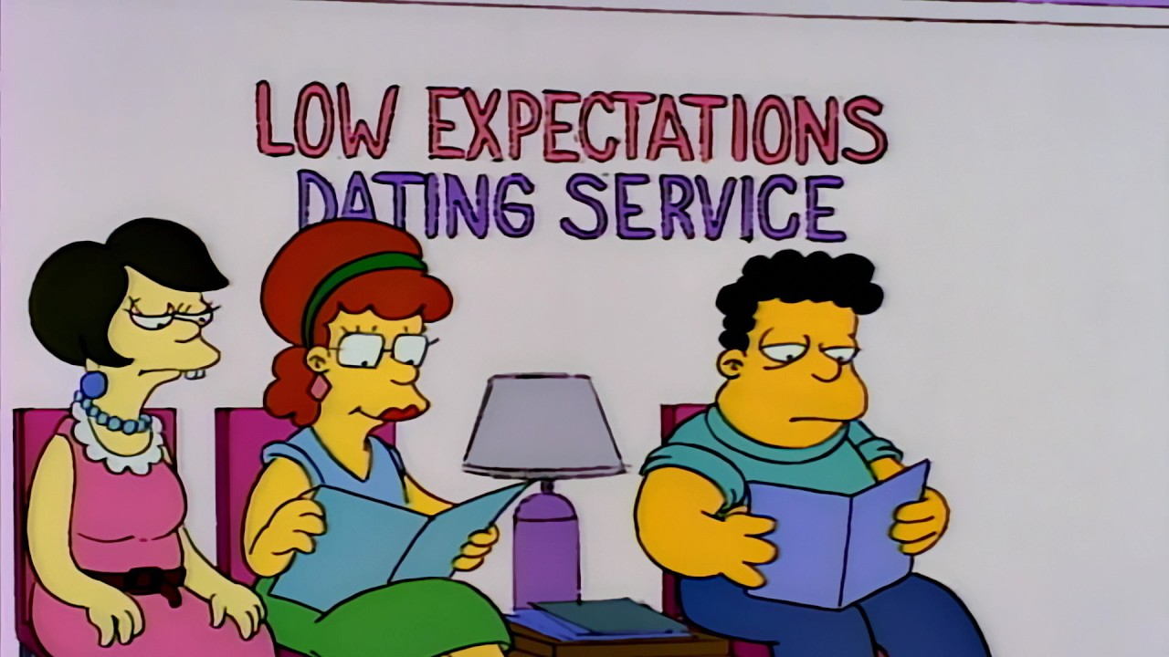 Low expectations dating service