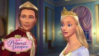 Обман раскрыт. Лучшие мультики: Барби принцесса и нищенка.