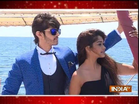 Kanchi Singh and Rohan Mehra's romantic dance in South Korea