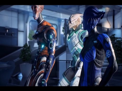 Mass Effect Andromeda Get All Four Pathfinders Meet with Nexus Leaders