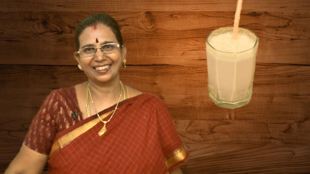 Pomegranate Milkshake | Mallika Badrinath Recipes | Juice ...