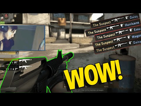 CS:GO - SCREAM HACKER (OVERWATCH FUNNY MOMENTS)