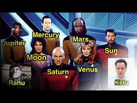 Vedic Astrology Star Trek TNG