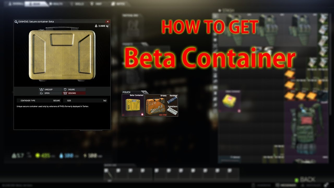 topmerken fabriek authentiek beste prijzen Escape From Tarkov - How to get Beta Container