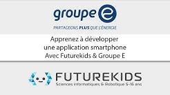 Cours Futurekids x Groupe E sur Thunkable - Partie 1