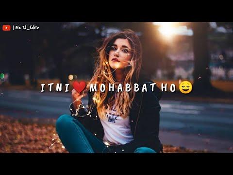Asmaan Ko Phir Zameen Se Itni Mohabbat Ho   Sad Remix WhatsApp Status   TikTok Famous Trending Song