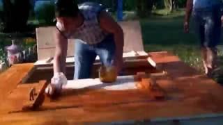 видео песочница с крышкой