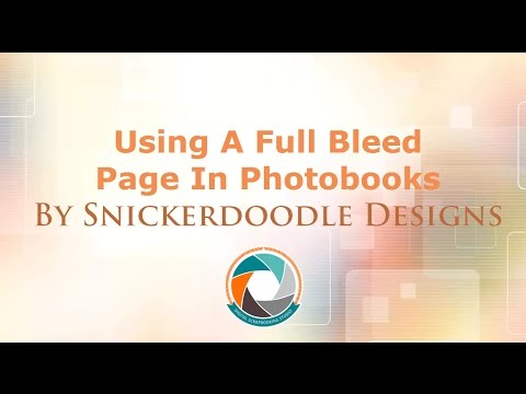 How to Create Full Bleed Pages for Photobooks