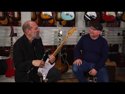 Eric Clapton Collection at Gruhn Guitars: 2006 Fender Custom Shop Blackie Relic Stratocaster