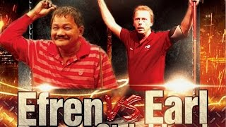 Efren Reyes VS  Earl Strickland The Battle of Legends at Steinway Billiards 9 Ball Part 2