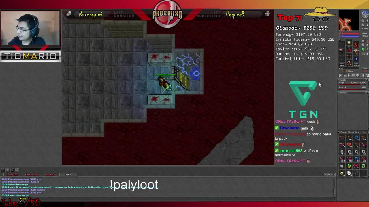Kharsek level 999 revela o que tem atr s da porta lvl 999 for Door 999 tibia